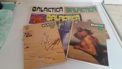 Galaktika Tudományos- Fantasztikus Folyóirat eladó!1979,1982,1987,1988,1990 év