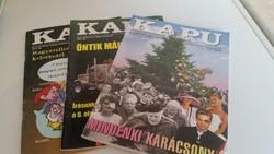 KAPU Az értelmiség magyar folyóirata 2011/2,2001/8,2002/11-12 eladó!