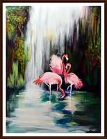 Czinóber - Flamingónia ( keret nélkül )