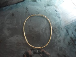 Arany 14k nyaklánc   18 gr