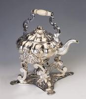 Ezüst antik bécsi szamovár