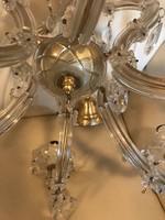 Mária Terézia stílusú kristály csillár