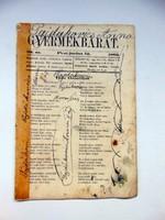 1862 június 12  /  Gyermekbarát  /  RÉGI ÚJSÁG Ssz.: 532