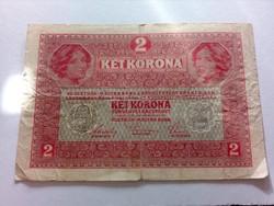 1917-es 2 Korona