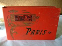 Párizs régi fotók 24 db
