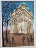 Francia művész: Paris, Diadalív