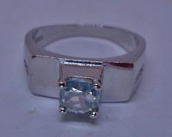Csodálatos valódi 0,9ct  Moissanite gyémántos ezüstgyűrű akció!!