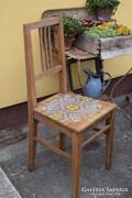 Festett viaszolt paraszt szék