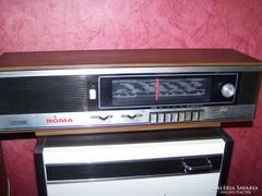 Videoton Róma rádió eladó