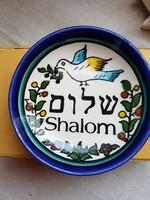 Izraelből kis dísztárgy.Judaika.