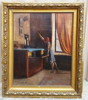 Lakos Alfréd festmény!