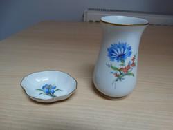 Meissen porcelán váza + gyűrűtartó !