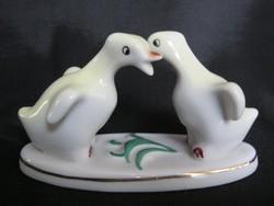 Kacsa pár porcelán figura