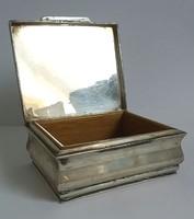 Antik Ezüst Dianás cigaretta kártya ékszer doboz