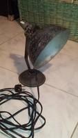 Retro ipari jellegű asztali lámpa