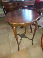 Antik szecessziós kis asztalka