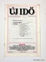 1989 május 15  /  ÚJ IDŐ  /  RÉGI EREDETI MAGYAR ÚJSÁG Szs.:  3941