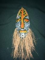 Iparművész kerámia fali maszk 25 cm