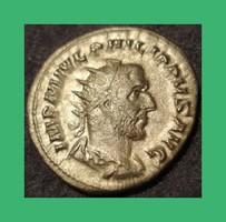 Római Philippus Arabs császár  244-249  Ag ezüst Antoninianus