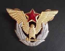Jugoszláv repülős sapkajelvény