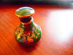 Sötétzöld  Bardaco Parfümös Porcelán Tégely!