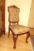 Antik barokk szék restaurálva.