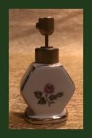 Jelzett,kis porcelán parfüm szóró,Bavaria