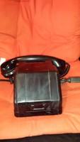 Bakelit tekerős telefon