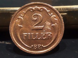 2 fillér 1940 es