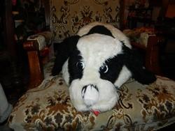Retro óriási kutya - plüss játék és dekoráció