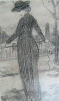 Gulácsy Lajos : Nő ostorral