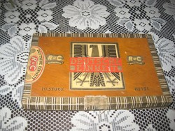 Szumátriai  szivarok  11 cm -esek  a doboz  19x 12 cm