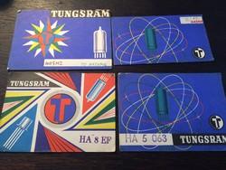 TUNGSRAM   reklámLapok 1976-79