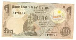 1 lira 1979 Málta