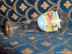 Kicsi pálinkás flaska, palack