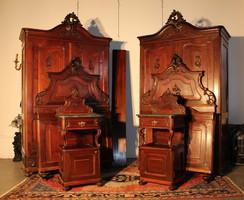 Csodaszép Bécsi barokk komplett hálószoba garnitúra!