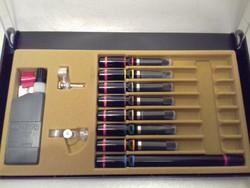 Eredeti ROTRING Rapidograf csőtoll készlet dobozában