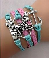 Pillangós barátság karkötő
