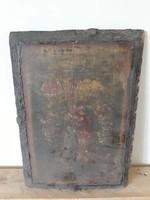 Antik Fatörzsre Festett Kép