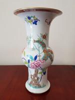 Ritka Herendi Shanghai mintás nagyméretű váza