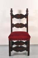 Olasz barokk szék, 18. sz.