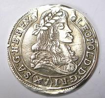Lipót XV krajcár 1679 KB