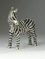 0Q009 Swarovski zebra ékszertartó