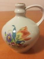 Herendi kis kancsó irisz virágmintával
