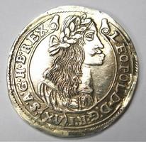 Lipót XV krajcár 1677 KB