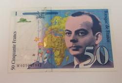 Franciaország 50 Frank 1994.