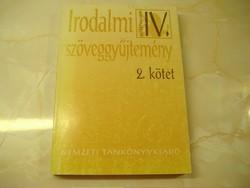 Irodalmi szöveggyűjtemény a 20. század magyar irodalmából a középiskolák IV. osztálya számára
