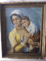 Bokor Vilmos festmény eladó !