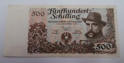 Ausztria 500 schilling 1953! R!