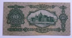 Extrém ritka 10 pengő 1929, fázishiányos előoldal!